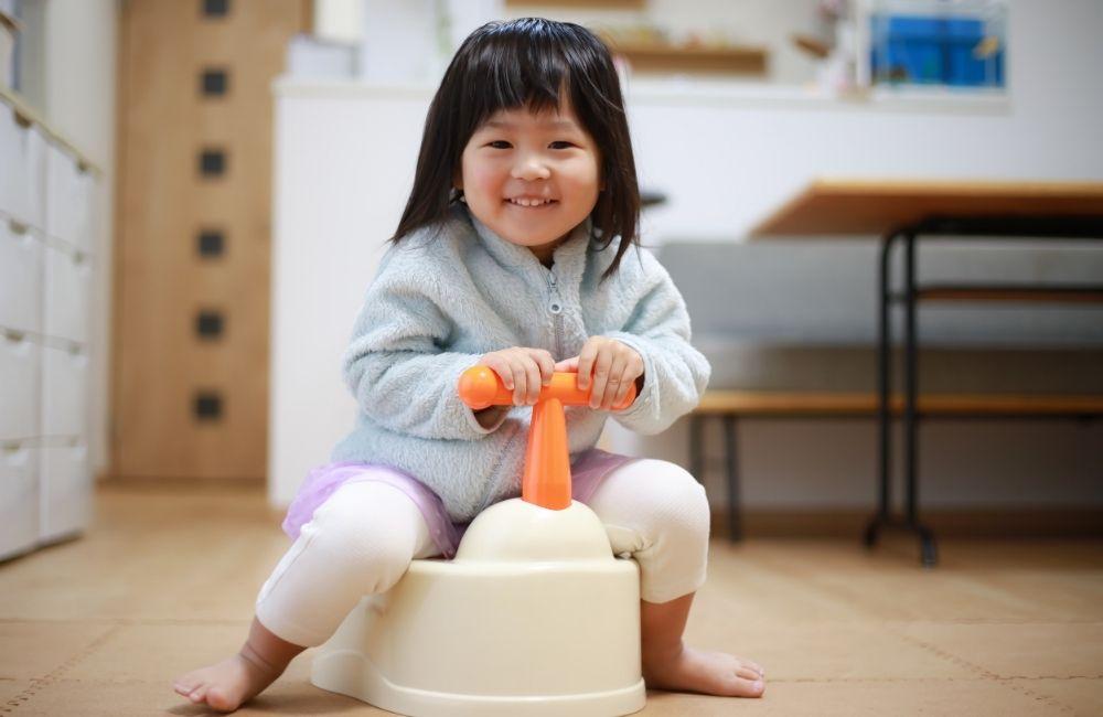 2歳児のトイレトレーニング